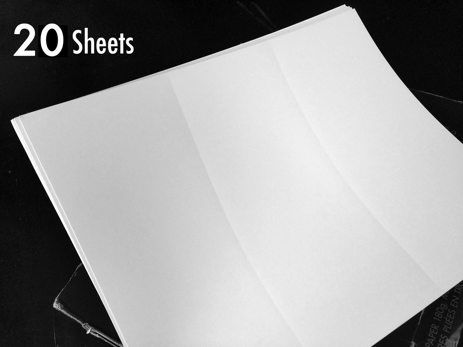hp tri fold brochure template - 20 sheets hp tri fold matte brochure paper for inkjet